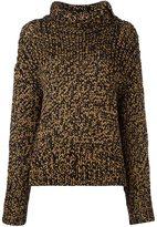 Rag & Bone button detailing turtleneck sweater