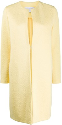 Harris Wharf London Textured Collarless Coat