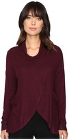 Culture Phit Leona Long Sleeve Cowl Neck Sweater with Pockets