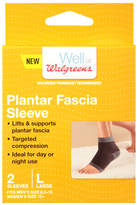 Walgreens Plantar Fascia Sleeves Large