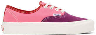 Vans Pink and Purple OG Authentic LX Sneakers