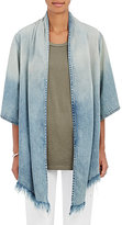 NSF Women's Denim Draped-Front Jacket