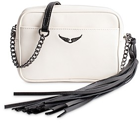 Zadig & Voltaire Boxy Small Leather Crossbody Bag