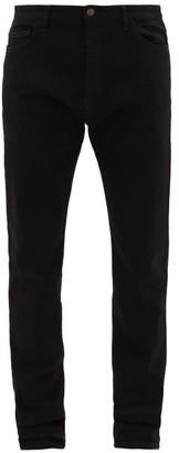 The Row Irwin Cotton-blend Jeans - Black