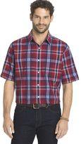 Arrow Men's Sea Jack Classic-Fit Plaid Seersucker Button-Down Shirt