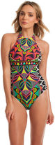 Trina Turk Africana High Neck One Piece