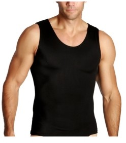 XX-Large Insta Slim Men/'s Black Compression Muscle Tank Shirt Pack of 3