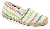 Soludos Girls' Rosso Espadrille Flats
