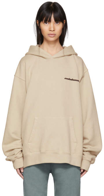 Yeezy Beige Calabasas French Terry Hoodie