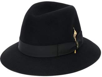 Borsalino gold leaf hat