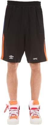 OMC Striped Logo Printed Shorts