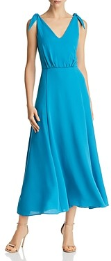 Betsey Johnson Crepe Georgette Midi Dress