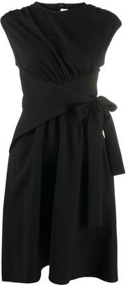 Victoria Victoria Beckham Gathered Waist Dress