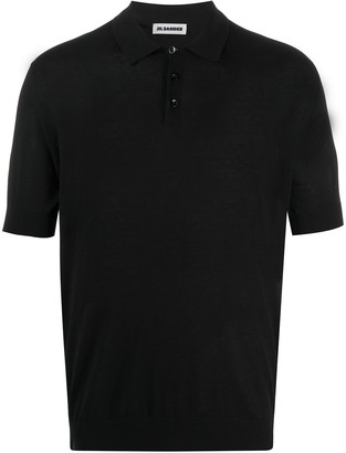 Jil Sander Short-Sleeved Polo Shirt