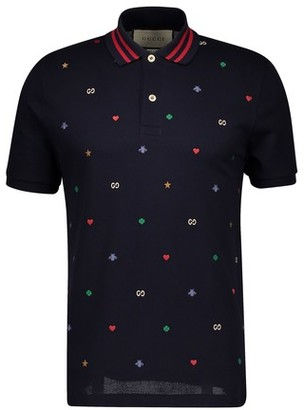 Gucci Multi Logo polo shirt