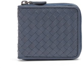 Bottega Veneta Intrecciato leather zip-around wallet