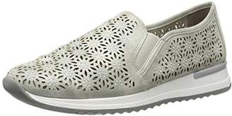 Remonte Women's R7005 Loafers, Grey / 40, 7 UK