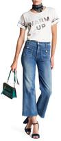 Mother Maverick Patch Pocket Flare Jean