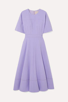 Roksanda Cady Midi Dress - Lilac