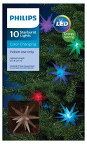 Philips 10 ct LED Starburst Color-Changing String Lights- Multicolored