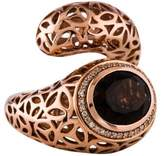 Di Modolo Sahara Smoky Quartz & Diamond Ring