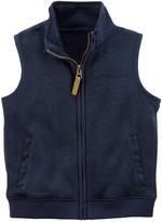 Carter's Baby Boy Zip Sweater Vest