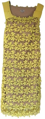 Hoss Intropia Yellow Cotton Dress for Women