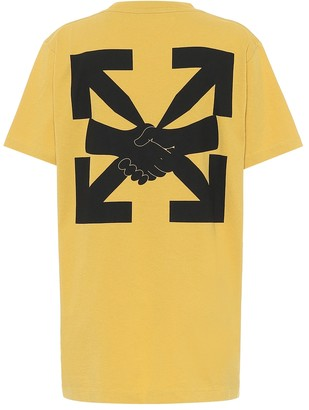 Off-White Agreement logo cotton T-shirt