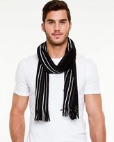 Le Château Stripe Knit Scarf