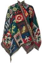 Alexander McQueen jacquard shawl