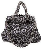 Christian Louboutin Leopard Jacquard Loubinette Bag