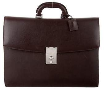 Barneys New York Barney's New York Leather Gusseted Briefcase