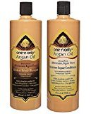 One 'N Only Argan Oil Moisture Repair Shampoo 33oz & Conditioner 33oz Duo