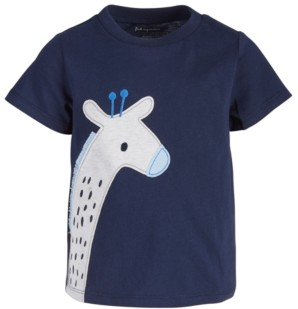 First Impressions Baby Boys Giraffe Cotton T-Shirt, Created for Macy's