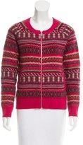 Bogner Patterned Wool Cardigan