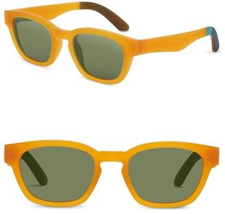 Toms 51mm Bowery Square Sunglasses