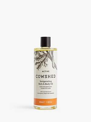 Cowshed Active Invigorating Bath & Body Oil, 100ml