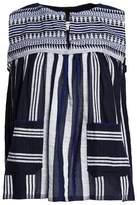 Lemlem Embroidered Cotton-Gauze Top