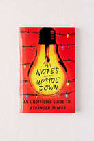 Urban Outfitters Notes from the Upside Down By Guy Adams