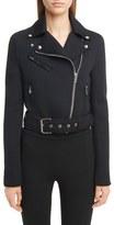 Givenchy Women's Neoprene Moto Jacket