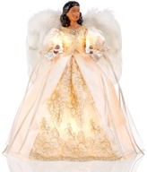Holiday Lane African American Angel Tree Topper Created for Macy's