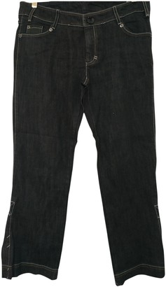 Mariella Rosati Black Cotton - elasthane Jeans for Women