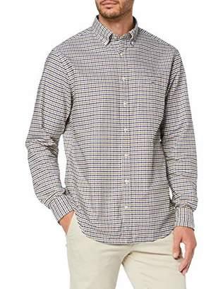 Gant Men's The Oxford 3 COL Gingham REG BD Casual Shirt,L