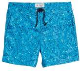 Original Penguin Men's Splatter Paint Swim Trunks