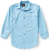 Calvin Klein Big Boys 8-20 Ripstop Woven Long-Sleeve Shirt