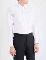 Turnbull & Asser Striped regular-fit cotton shirt