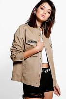 boohoo Boutique Layla Army Jacket