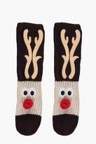 Boohoo Eve Christmas Character Novelty Slipper Socks