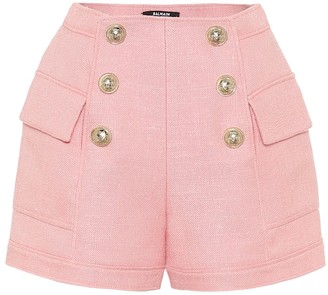 Balmain High-rise shorts