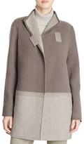 Lafayette 148 New York Valina Color Block Wool Coat